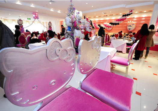 Hello-Kitty-themed-restaurant-Beijing-China2